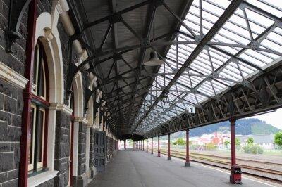 Cuadro Estación de trenes de Dunedin
