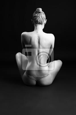 Cuadro estatua de mujer