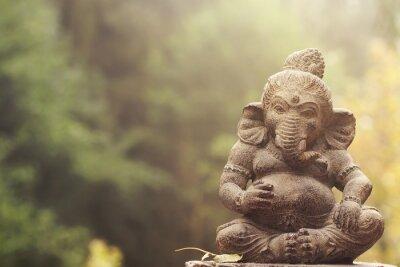 Cuadro Estatua de piedra de la deidad ganesha
