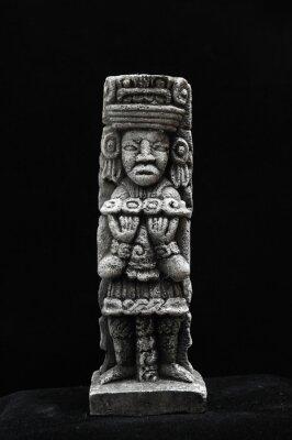Estatua maya antigua