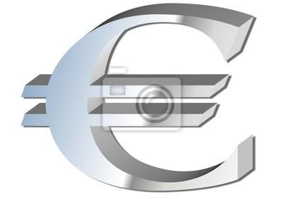 Cuadro euro 3d