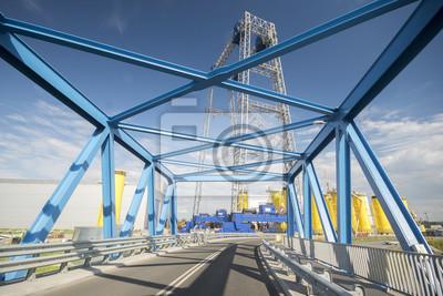Fabryka plataforma de morskich elektrowni wiatrowych, Szczcecin, Polska