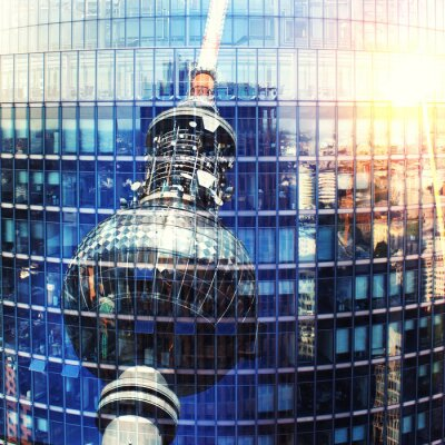 Cuadro Fernsehturm Berlín