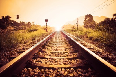 Cuadro ferrocarril de la vendimia