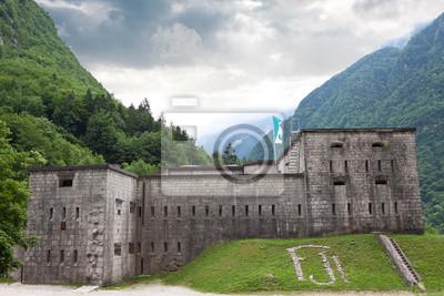Festung Kluze. Eslovenia