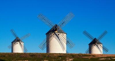 Cuadro Few of  windmills