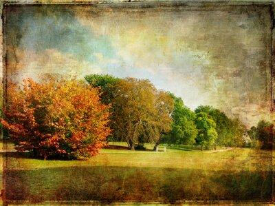 finales de otoño - de la vendimia