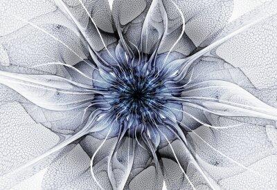 Cuadro Flor futurista