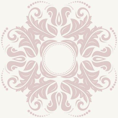 Cuadro Floral Modelo abstracto