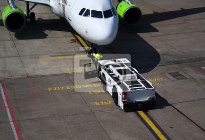 Cuadro Flugzeug vor dem Inicio