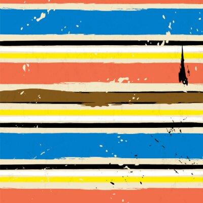 Cuadro Fondo abstracto, con movimientos y salpica, modelo de la raya,
