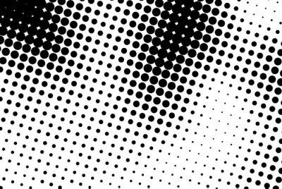 Cuadro Fondo abstracto con puntos negros.