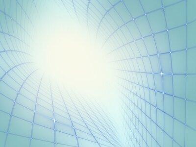 Cuadro Fondo abstracto de Techno moderno