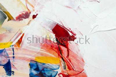 Cuadro fondo abstracto pintado