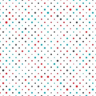 Cuadro Fondo colorido del punto