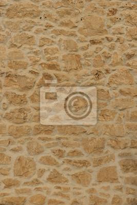 Fondo de la pared de piedra