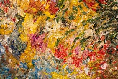 Cuadro Fondo de la pintura al óleo. Concepto del arte.