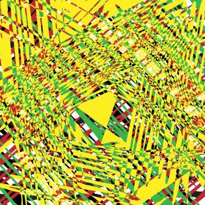 Cuadro Fondo de textura de grunge amarillo, elemento de diseño de ilustración