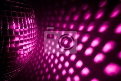 Fondo del disco púrpura