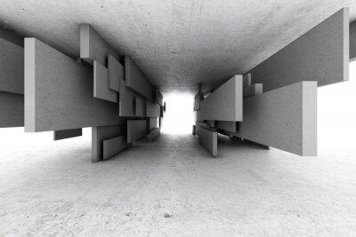 Cuadro Fondo geométrico abstracto