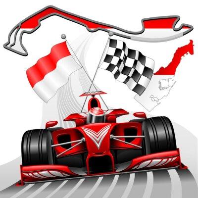 Cuadro Fórmula 1 Gran Premio de Mónaco