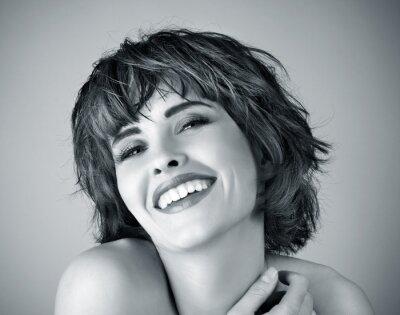 Cuadro Foto de hermosa mujer riendo