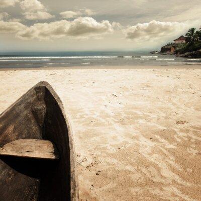 Cuadro foto de la playa-2