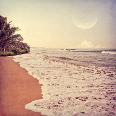 Cuadro foto de la playa-21