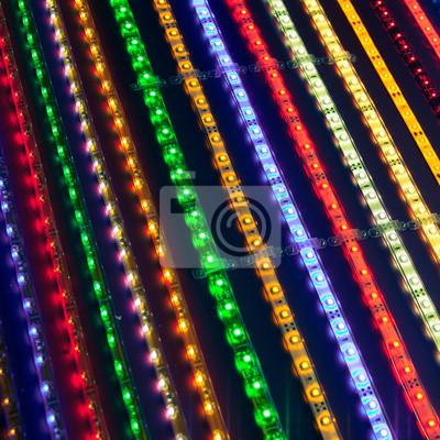 franjas de luz dirigidos