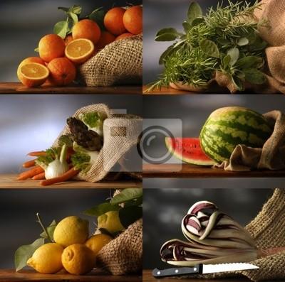 Frutas Y Verduras 27105847 Pinturas Para La Pared Cuadros