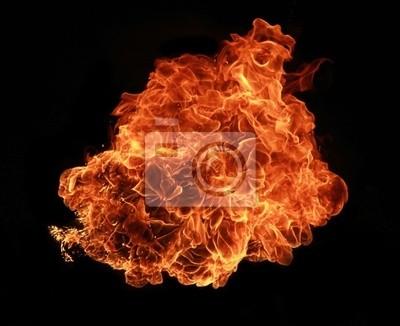 Cuadro Fuego