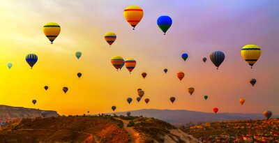 Cuadro Globos CappadociaTurquia.