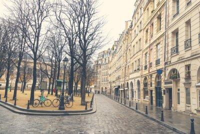 Cuadro Gloomy day in Paris