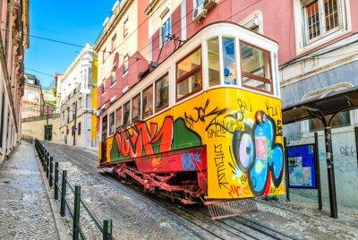 Cuadro Gloria Funicular, Lisbon, Portugal