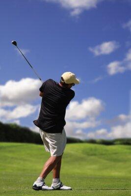 Cuadro golfista