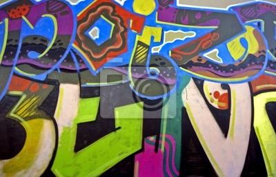 Cuadro Graffiti en Amsterdam los Países Bajos