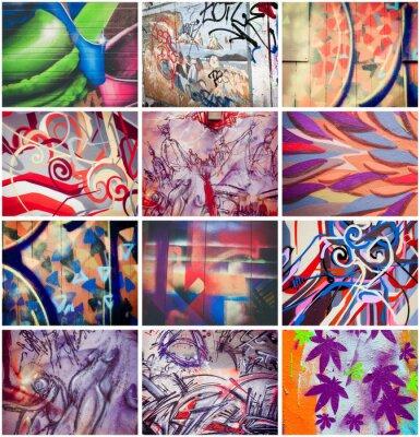 Cuadro Graffitis colorés