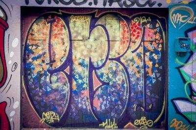 Cuadro Graffitis couleurs pétantes