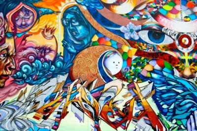 Cuadro Grafiti