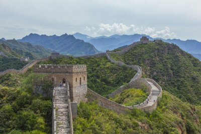Cuadro Gran Muralla China Jinshanling