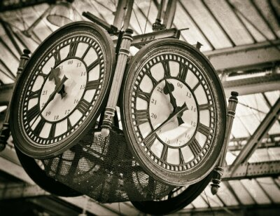 Cuadro Gran reloj