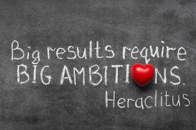 Cuadro grandes ambiciones