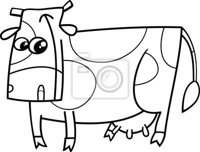 granja de vacas para colorear animales pinturas para la pared