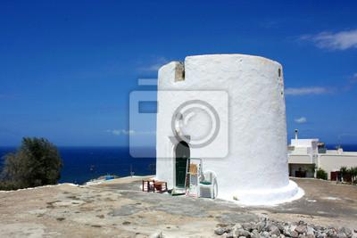 Grèce / Santorin - moulin ancien