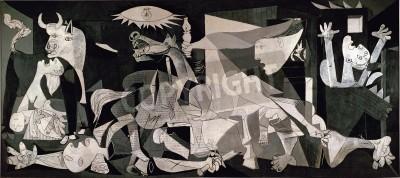 Cuadro Guernica of Pablo Picasso