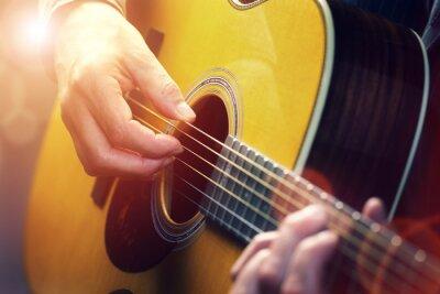 Cuadro Guitarrista
