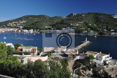 Hafen en Port d'Andratx, Mallorca