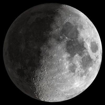 Cuadro Half Moon con detalles nítidos.