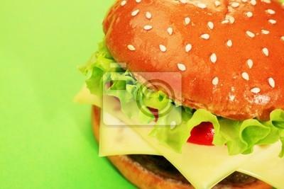 hamburguesa con queso apetitoso