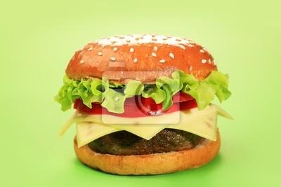 hamburguesa con queso es delicioso